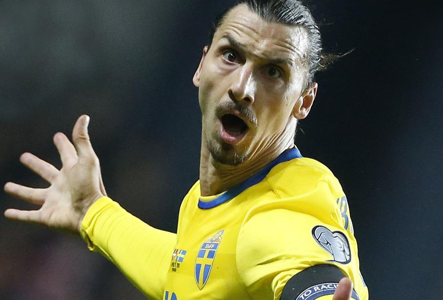 Zlatan Ibrahimovic terug in nationale elftal Zweden